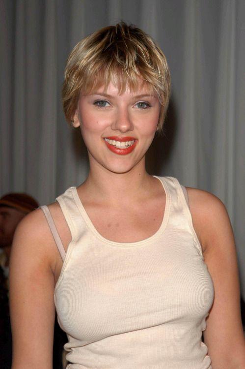 Scarlett Johansson   (sexy with short hair)