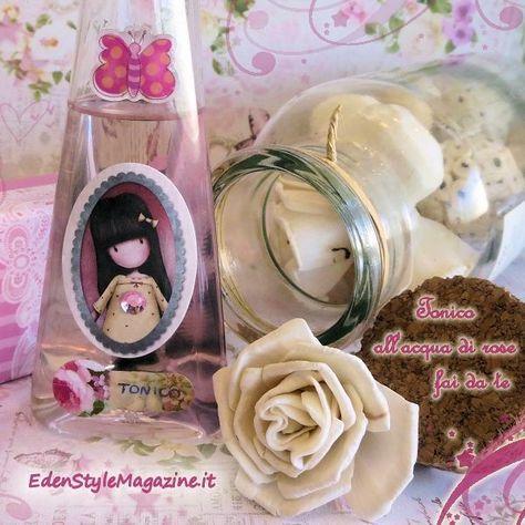 tonico acqua di rose ricetta