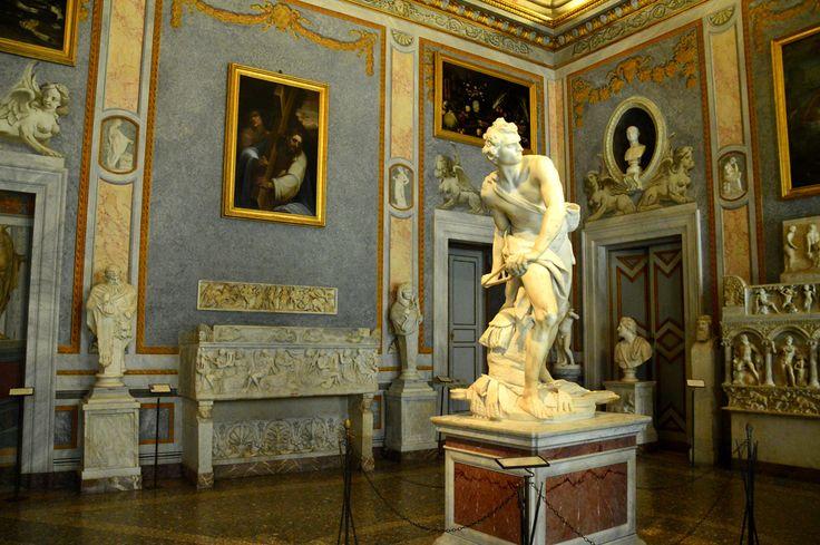 Galleria borghese in Roma, Lazio