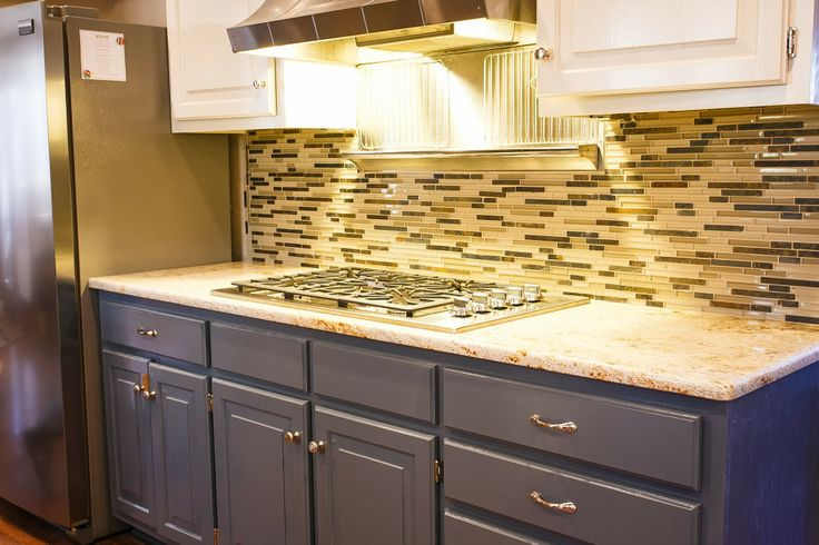 This a kitchen that GB Group remodeled in Fayetteville, AR.