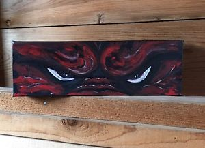 Arkansas Razorback Painting, New, Signed, And Licensed