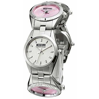 220€ montre double fuseau horaire Moschino pour femme MW0032 - WeJewellery