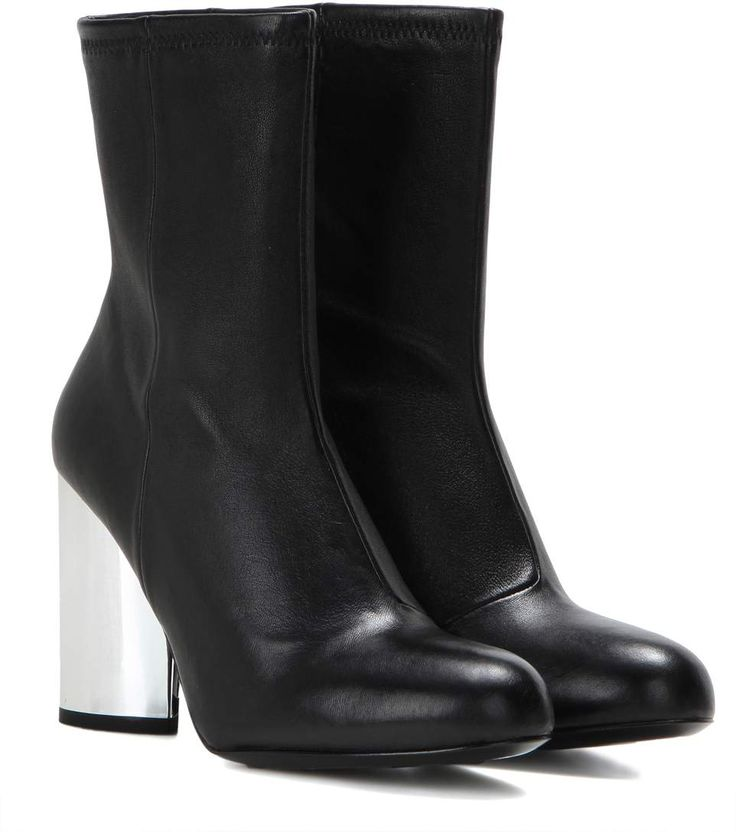 OPENING CEREMONY Zloty Leather Ankle Boots. #openingceremony #shoes #boots