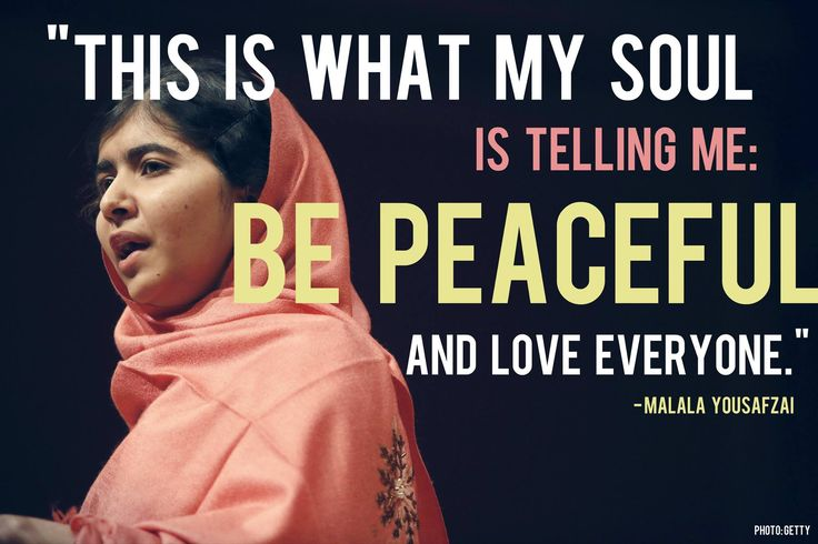 Educating our Minds, Hearts and Souls - Malala Yousafzai | Unity ...