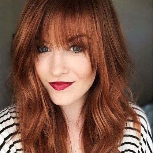 Image result for medium auburn hair