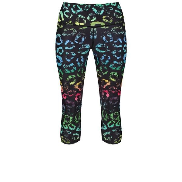 Tikiboo Spectrum Kisses Capri #Activewear #Gymwear #FitnessLeggings #Leggings #Tikiboo #RainbowPrint #Running #Yoga