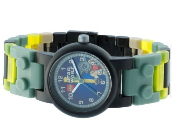 Star Wars LEGO Watch With Interchangeable Links And Kid's Yoda Action Figure #Lego #CartoonNovelty