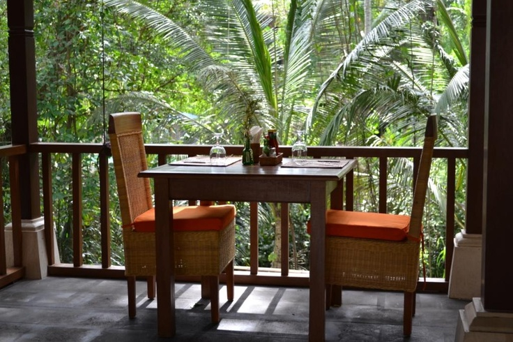 The River Cafe at Villa Nirvana in Ubud, Bali. Your sanctuary of bliss.