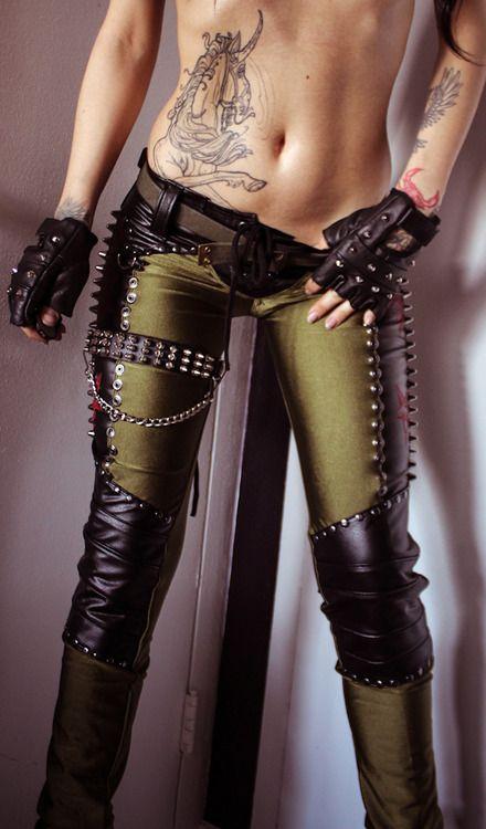 New Toxic Vision pants!