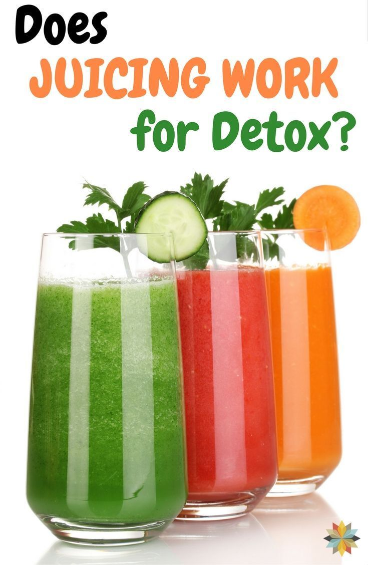 does juicing work for detox? | detox benefits, detox juice
