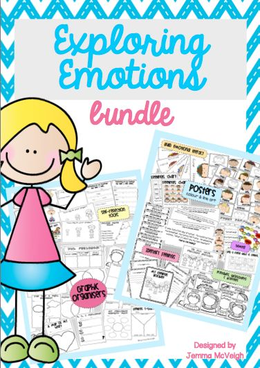 This Exploring Emotions pack is an all inclusive resource that focuses on the following emotions: happy, sad, angry, excited, silly, surprised, scared and worried.  Included in this pack:  - 16 X Emotion Posters COLOUR & BLACK and WHITE LINE ART (A5 size) These posters include a coloured clipart picture of the 8 different emotions explored in this pack. Each poster is labelled with BOY and GIRL versions  - 1 X Feelings Chart COLOUR & BLACK and WHITE LINE ART (8 emotions with Boy and Girl…