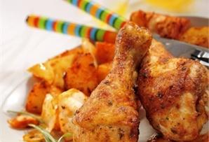 Pałeczki z kapustą i ziemniakami / Chicken legs with cabbage and potatoes - szybki i smaczny sposób na rodzinny obiad
