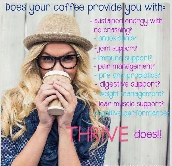 Heheee!! Go ahead...do the research! You'll LOVE what you find! START Thriving ! Niklynnshep@gmail.com http://nsheppard.le-vel.com