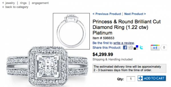Tamra Barney Engagement Ring Costco