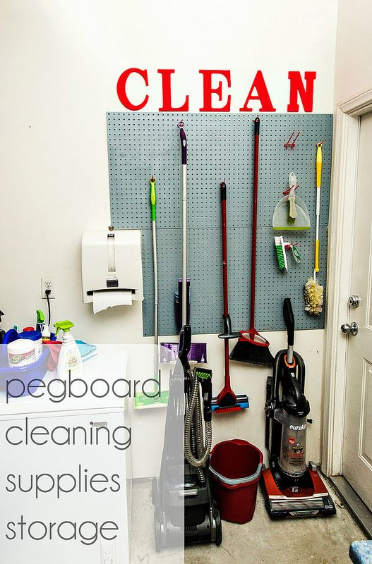 1000 Ideas About Cleaning Supply Storage On Pinterest