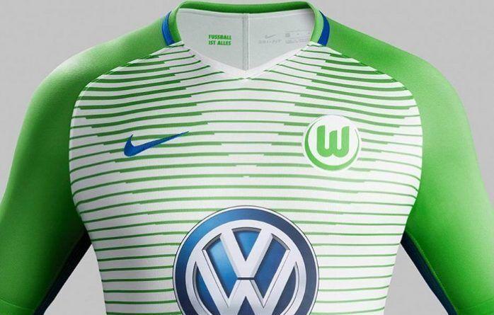 VfL Wolfsburg 2017/18 Nike Home, Away and Third Kits