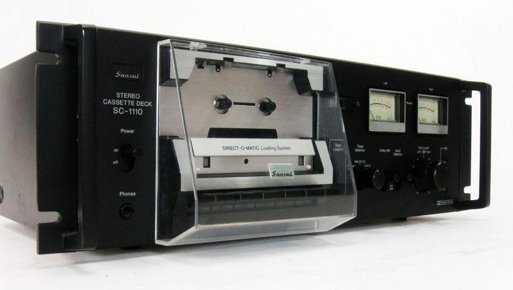 Vintage Audio Love SANSUI SC-1110