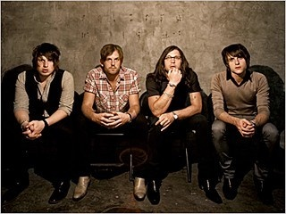 King of Leon, one of the best rock bands around. I don't begrudge them their evolution from garage rock to arena one bit. drlopez8
