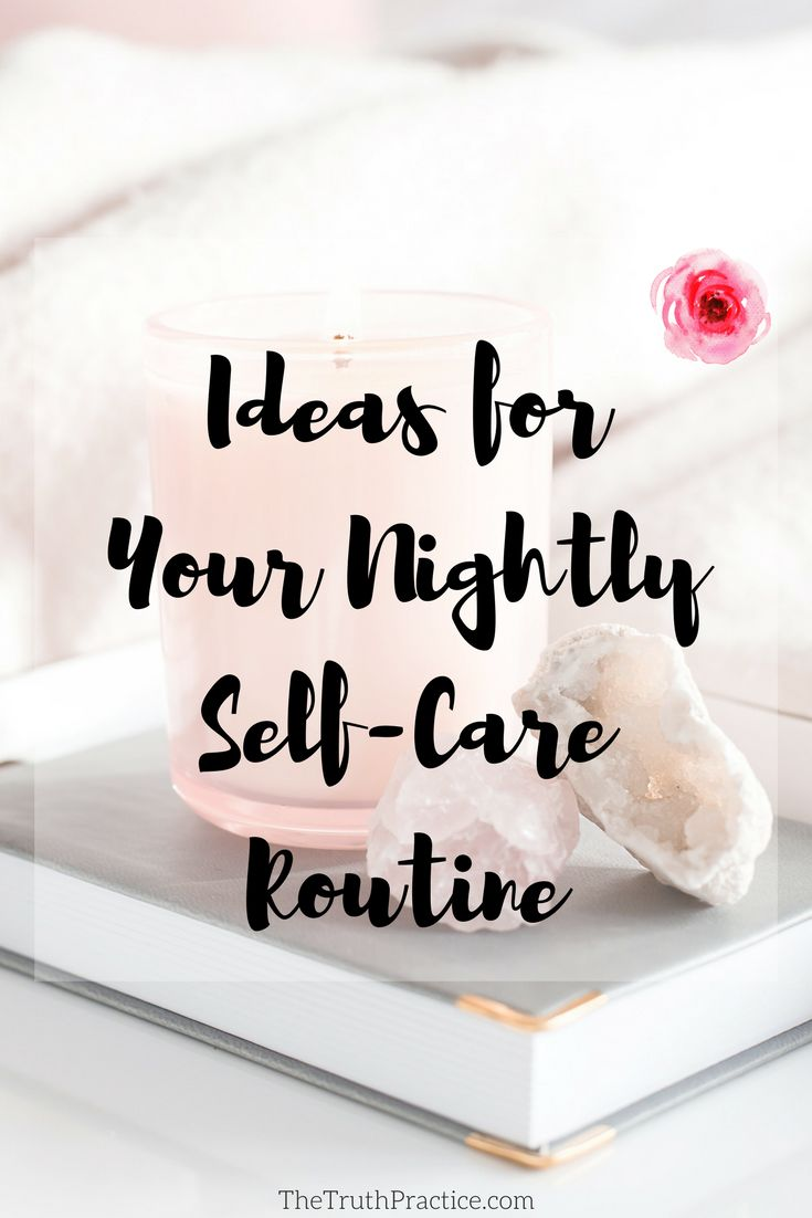 It can be challenging to wind down after a long day. How often have you stayed up watching TV for too long? How often have you scrolled through Instagram until you couldn't feel your thumb anymore? So I've developed some go-to self-care activities that help me wind down at night so that I'm not staring into a screen until 5 in the morning. I'm sharing them with you in hopes that you'll also find your way to self-love and deep rest.