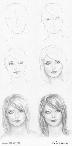 Gesicht zeichnen: Schritt für Schritt Mehr