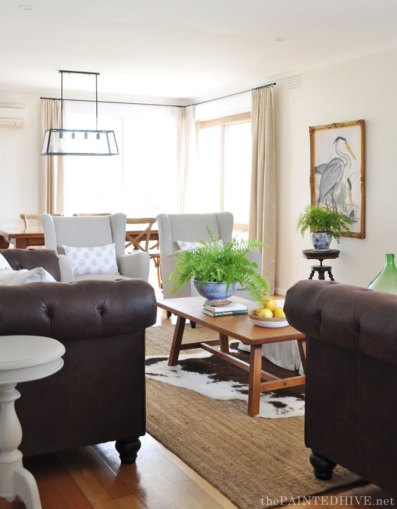 Gorgeous DIY Transitional Living Room Makeover On A Budget