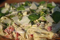 Min Goda Sida: Krämig pastasallad med kyckling och fetaost