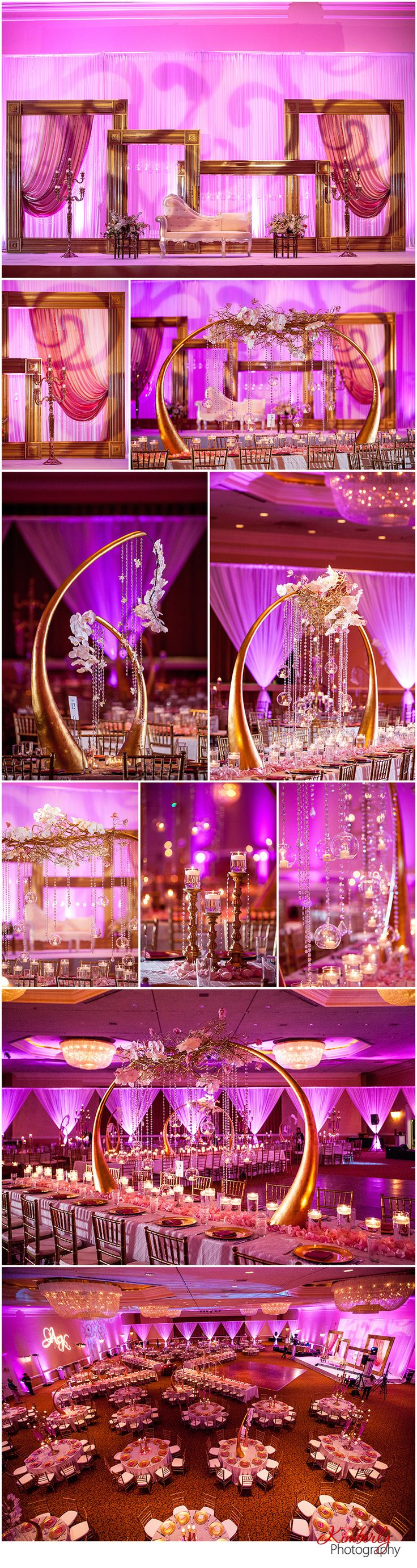 Happy Monday everyone!  We are thrilled to return to our Get Inspired! series with this gorgeous reception creation designed by Suhaag Garden.  Talk about romance!  These center pieces are a true w...