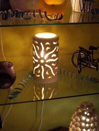 arredo giardino - pietra leccese - lampade e arredo in pietra leccese