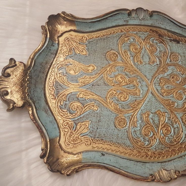 Beautiful tray for your vanity