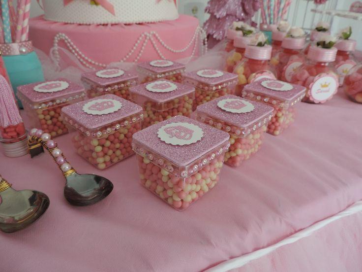 Mini baleiro - festa princesa