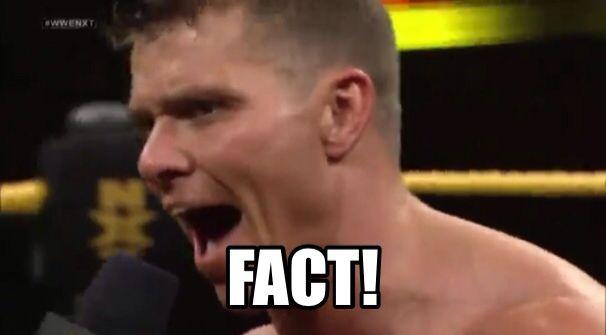 Tyson Kidd, fact!