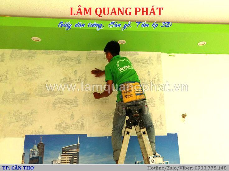 Giấy dán tường tại Cần Thơ - Quán nhậu bình dân Việt Bình