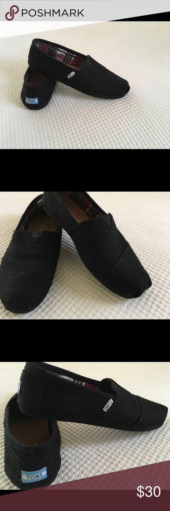Men's shoes Brand New...never worn Black Tom's for men Tom's Shoes Loafers & Slip-Ons
