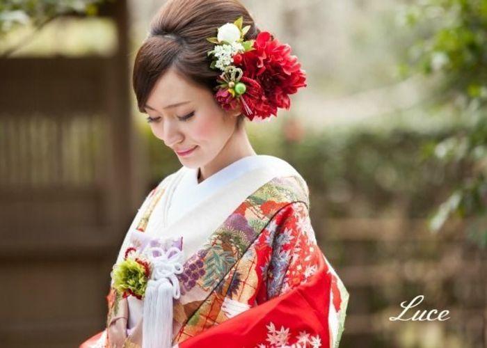 和装weddingに♡可愛い打掛とヘアアレンジCOLLECTION♡のトップ画像