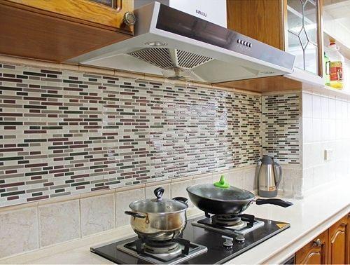 Frentes de cocina nuevos con estos azulejos adhesivos 1 for Azulejos adhesivos baratos