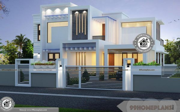 Townhouse Plans For Small Blocks With 2 Floor Modern Home Design Idea Modern Floor Plans Townhouse Interior Modern House Design House designs small blocks