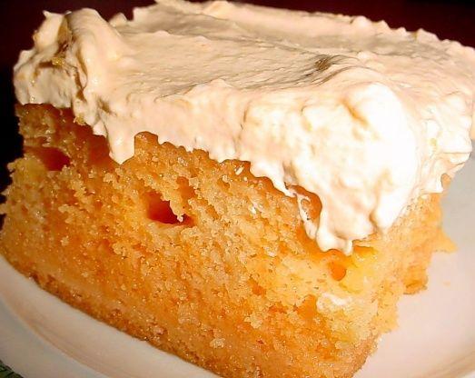 Best Orange Creamsicle Cake Recipe - Food.com http://www.food.com/recipe/best-orange-creamsicle-cake-36015