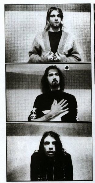 Nirvana Kurt Cobain Krist Novoselic Dave Grohl