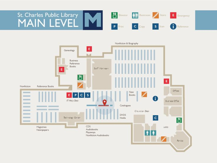 library floor map - Floor Map Design