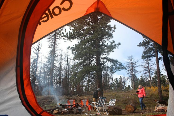 #Camping in  #Colorado