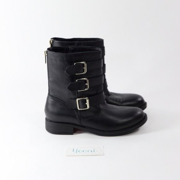 """Selling this """"Kenneth Cole Boots with 3 Strapped Buckles - NEW"""" in my Poshmark closet! My username is: yooni. #shopmycloset #poshmark #fashion #shopping #style #forsale #Kenneth Cole #Boots #KennethCole #ankleboots"""