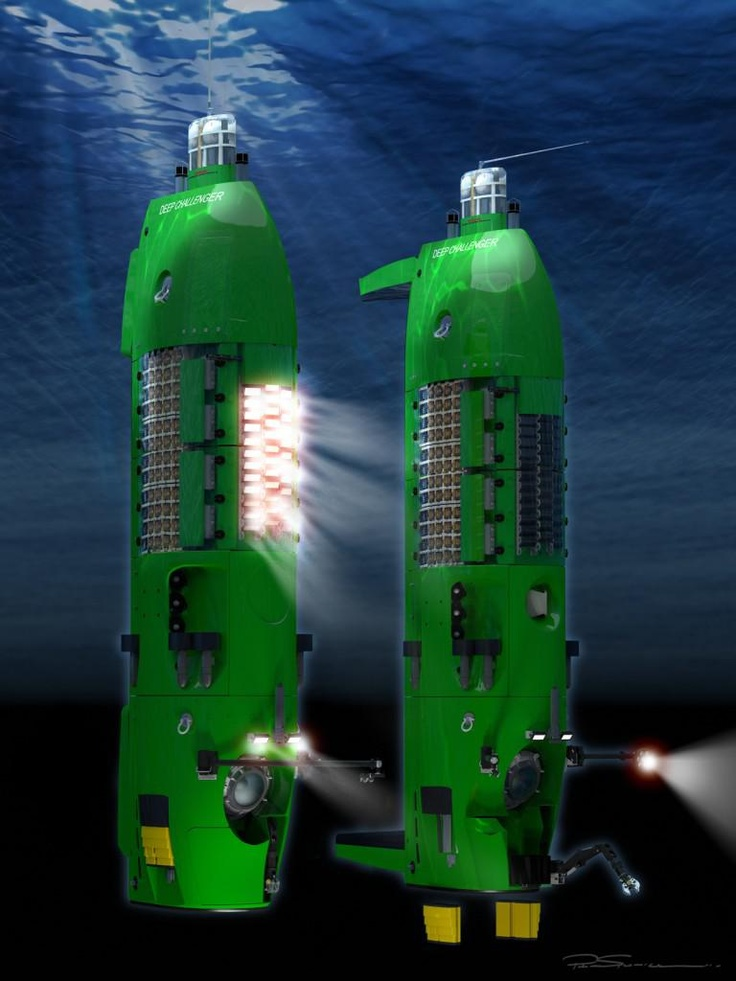 Deepsea Challenger: James Cameron To Dive The Mariana Trench