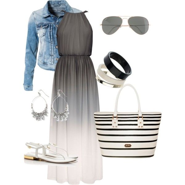 Relax by marvahe on Polyvore featuring Pepe Jeans London, Tory Burch, Folli Follie, Dorothy Perkins, White House Black Market and J.Crew