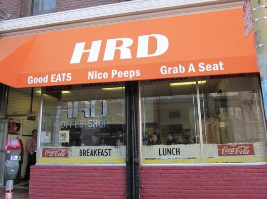 Been Here!  HRD featured in Diners, Drive-ins and Dives (Guy Fieri's Food Network Hit Show) serves the greatest kimchi burritos and Mongolian Cheessteak Sandwiches.