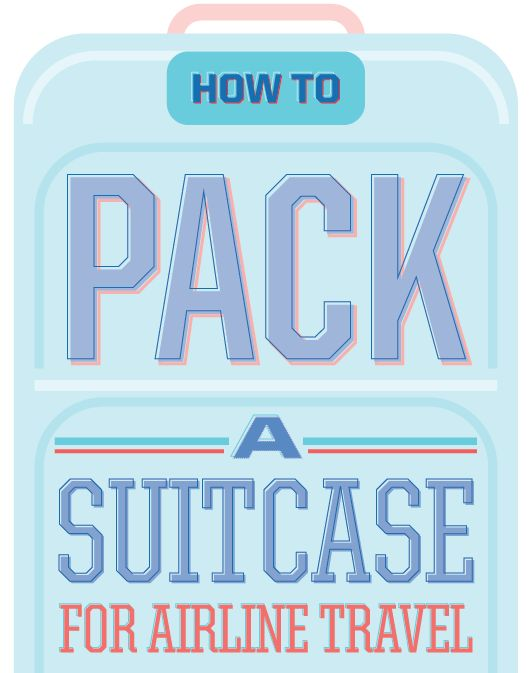 how to pack suitcase tightly