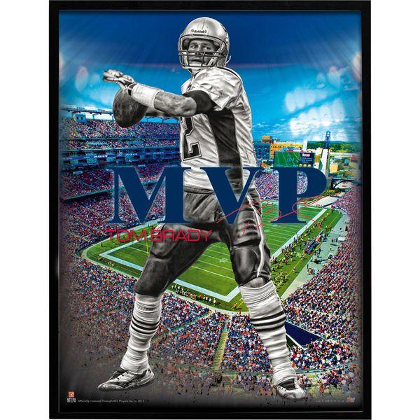 "Tom Brady New England Patriots 24"" x 18"" MVP Player Poster - $12.99"