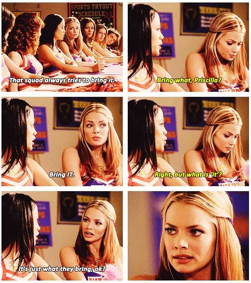 Not Another Teen Movie    a.k.a. the Bring It On! parody.