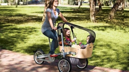 TAGA Bike Cool idea, has pram seat attachments, and converts to ...