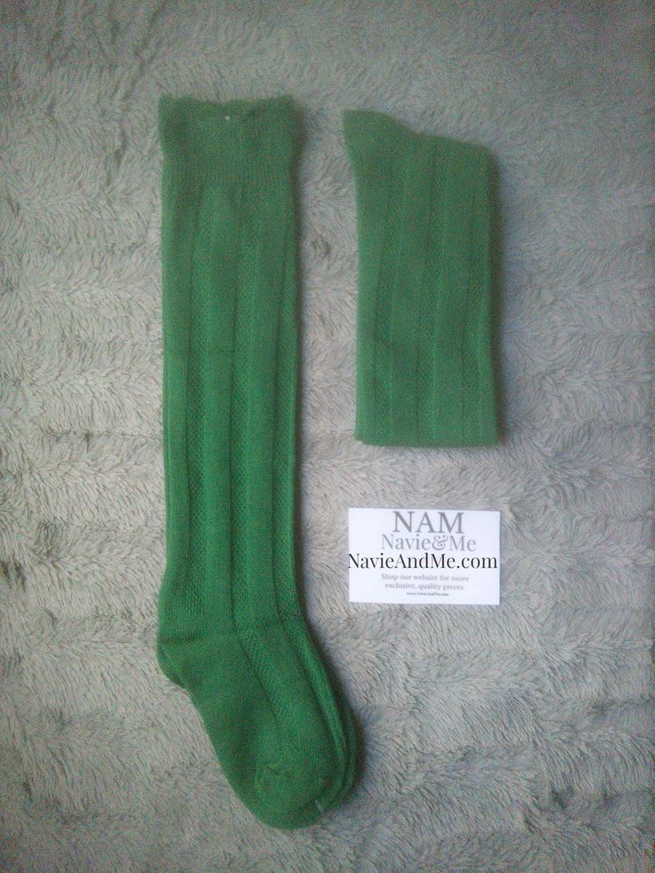 Amazing Knee High Socks Emerald Green Knee Socks Christmas Socks Girls Knee High Socks
