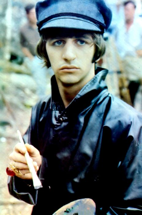 Ringo the artist, 1965. My favourite Beatle; the BEST Beatle!
